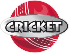 Free Cricket Sports Ball Royalty Free Stock Photos - 19973678