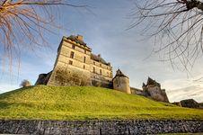 Free Castle Biron Stock Photo - 19973890