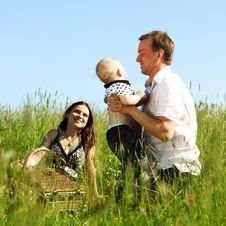 Free Happy Family Stock Photography - 19975082