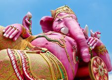 Free Pink Ganesha In Thailand Stock Images - 19975414