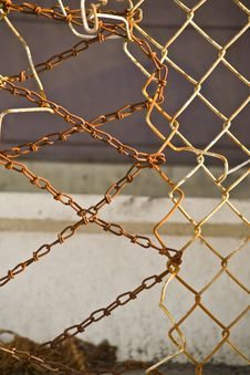 Free Rigged Fencing Royalty Free Stock Photography - 19976057