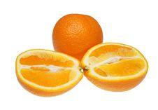 Free Orange Halves Stock Photography - 19976862