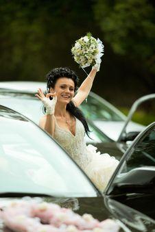 Free Bride Showing  Ok  Gesture Stock Photos - 19976953