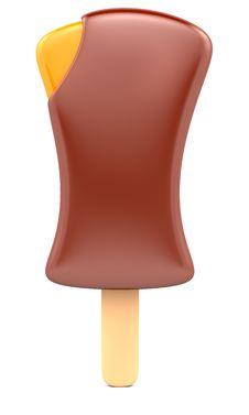 Free Chocolate Ice Cream Stock Images - 19977304