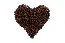 Free Coffee Heart Stock Photo - 19977640