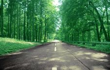 Free Countryside Road Royalty Free Stock Images - 19977899