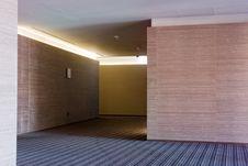 Corridors In The Hotel Stock Image