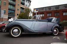 Free Sunbeam Talbot Convertible Soft Top Stock Photo - 19978910