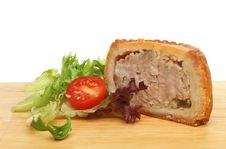 Free Portion Of Pork Pie Royalty Free Stock Images - 19979159