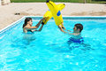 Free Couple In Swimming Pool Stock Images - 19981194
