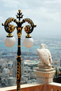 Free View Of Haifa City And Eagle Statue,Israel Stock Photography - 19981782