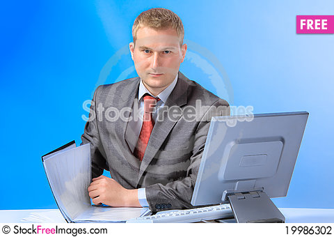Free Business Man Stock Photography - 19986302