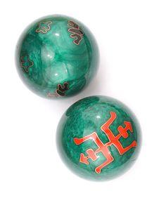 Chinese Stress Balls Royalty Free Stock Image