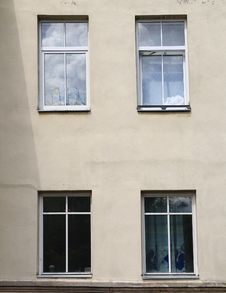 Four Windows Stock Photography