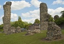 Free Bury St. Edmunds -Abbey Garden Ruins Stock Images - 19981834