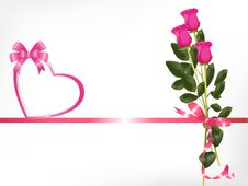 Free Bouquet Of Pink Roses Stock Photos - 19982073