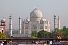 Free Taj Mahal Located In Agra 21 Stock Images - 19982624