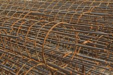 Steel Cage Stock Photography