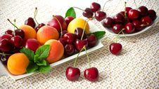 Free Cherries. Stock Photos - 19982813
