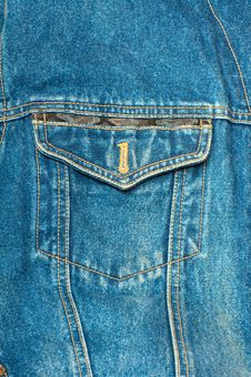 Free Jeans Texture Stock Photo - 19984120