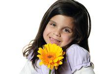 Free Flower Girl Royalty Free Stock Photos - 19984208