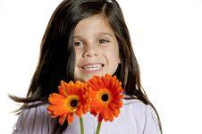 Free Flower Girl Stock Photos - 19984263