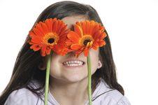 Free Flower Girl Stock Photo - 19984280