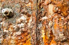 Free Rusty Metal Surface Royalty Free Stock Image - 19984976