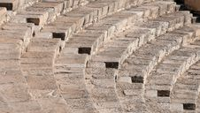 Free Steps Form Kourion Amphitheater Royalty Free Stock Image - 19985086
