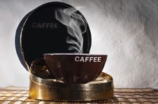Free A Cup Of Coffee Royalty Free Stock Photography - 19985667
