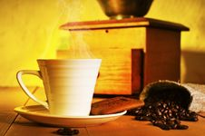 Free A Cup Of Coffee Royalty Free Stock Photography - 19985677