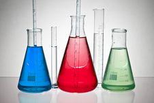 Free Laboratory Glassware Stock Image - 19986831