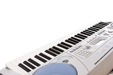 Free Synthesizer  Keyboard Royalty Free Stock Photos - 19986968
