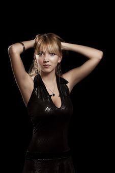 Free Seductive Blond Woman Stock Photos - 19987083
