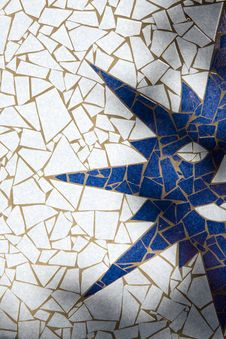 Free Symbol Of Sun Made With Mosaic Royalty Free Stock Images - 19987329