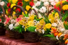 Easter Baskets Royalty Free Stock Photos