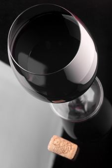 Free Red Wineglass Royalty Free Stock Photos - 19988188