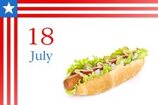 Free National Hot Dog Day Stock Photos - 19988233