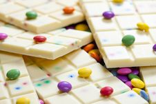 Free White Chocolate Royalty Free Stock Image - 19989696