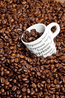 Free Cup Of Coffee Royalty Free Stock Photos - 19989748