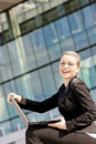 Free Businesswoman With A Notebook Stock Image - 19990081