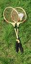 Free Badminton Rackets Stock Photo - 19998430