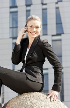 Free Young Businesswoman Royalty Free Stock Photography - 19990067