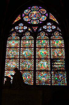 Free Stained-glass Window Stock Image - 19990101