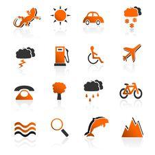 Free Travel Icons Set 02 Stock Photo - 19990470