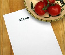 Free Menu Stock Photos - 19991473