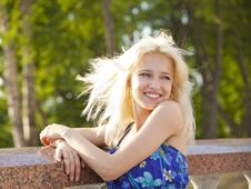 Free Young Blonde   Girl Royalty Free Stock Photos - 19991508