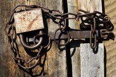 Free Tool  Lock  Close  Chain Stock Photography - 19991692