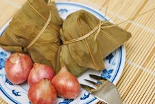 Free Traditional Dumplings And Ingredients Royalty Free Stock Photos - 19991768