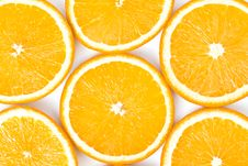 Free Oranges, Sliced Into Circles Stock Image - 19991811